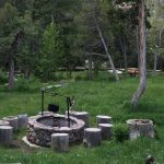 yellowstone lodging elephant head lodge campfire
